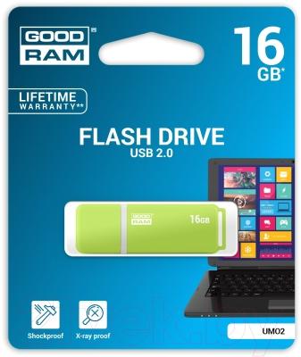 Usb flash накопитель Goodram UMO2-0160OGR11