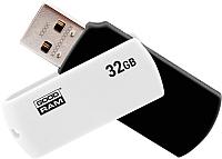 Usb flash накопитель Goodram UC02 32GB (черный/белый) (UCO2-0320KWR11) -