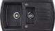 Мойка кухонная Kuppersberg Alba 1.5B1D (черный) -