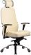 Кресло офисное Metta Samurai KL3 (Белый лебедь/бежевый) -