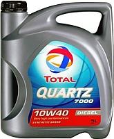 Моторное масло Total Quartz 7000 Diesel 10W40 / 148646 (5л) -