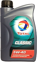 Моторное масло Total Classic 5W40 / 164796 (1л) -