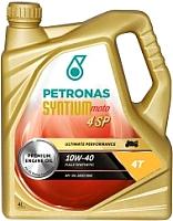 Моторное масло Petronas Syntium 4SP 10W40 / 18254004 (4л) -