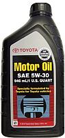Моторное масло Toyota API SM 5W30 / 00279-1QT5W (0.946л) -