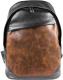 Рюкзак Igermann 737 / 16С737К (черный/коричневый) -