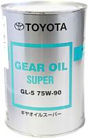 Трансмиссионное масло Toyota Gear Oil Super 75W90 / 08885-02106 (1л) -