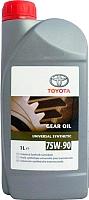 Трансмиссионное масло Toyota GL-5 75W90 / 08885-80606 (1л) -