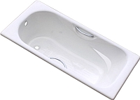 Ванна чугунная Goldman ZYA-9C-4 Donni (140x75) -