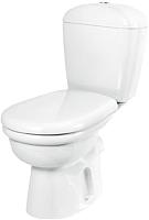 Унитаз напольный Керамин Омега Алкапласт Premium (белый, с мягким сиденьем) -