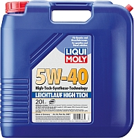 Моторное масло Liqui Moly Leichtlauf High Tech 5W40 (20л) -