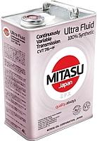 Трансмиссионное масло Mitasu CVT Ultra Fluid / MJ-329-4 (4л) -