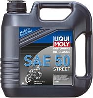 Моторное масло Liqui Moly Motorbike HD-Classic SAE 50 Street (4л) -
