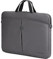 Сумка для ноутбука Continent CC-01 (серый) -