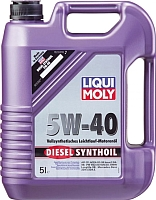 Моторное масло Liqui Moly Diesel Synthoil 5W40 (5л) -