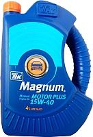 Моторное масло ТНК Маgnum Motor Plus 15W40 (4л) -