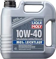 Моторное масло Liqui Moly MoS2 Leichtlauf 10W40 (5л) -