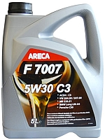 Моторное масло Areca F7007 5W30 C3 (5л) -