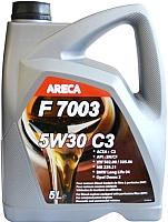 Моторное масло Areca F7003 5W30 C3 (5л) -
