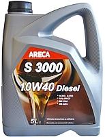 Моторное масло Areca S3000 Diesel 10W40 (5л) -