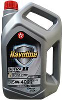 Моторное масло Texaco Havoline Ultra S 5W40 (4л) -