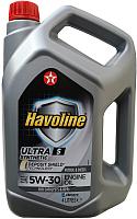 Моторное масло Texaco Havoline Ultra S 5W30 (4л) -