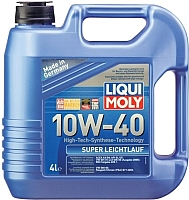 Моторное масло Liqui Moly Super Leichtlauf 10W40 (4л) -