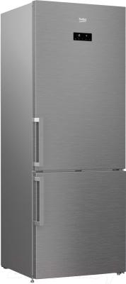 Холодильник с морозильником Beko RCNE520E21ZX