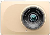 Автомобильный видеорегистратор Xiaomi Car Yi WiFi DVR / Yi Smart Dash Camera (золото) -