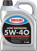 Моторное масло Meguin Megol Low Emission 5W40 (4л) -