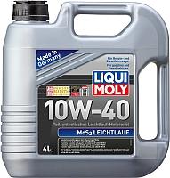 Моторное масло Liqui Moly MoS2 Leichtlauf 10W40 (4л) -