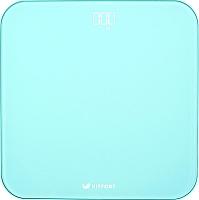 Напольные весы электронные Kitfort KT-802-1 (бирюзовый) -