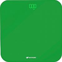 Напольные весы электронные Kitfort KT-802-3 (зеленый) -