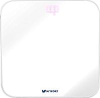 Напольные весы электронные Kitfort KT-802-5 (белый) -