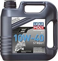 Моторное масло Liqui Moly Motorbike 4T Street 10W40 (4л) -