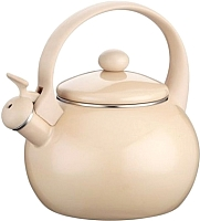 Чайник со свистком Peterhof PH-15629 (бежевый) -