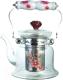 Заварочный чайник Bekker BK-7619 (красный узор) -