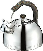 Чайник со свистком Peterhof SN-1426 (мрамор) -