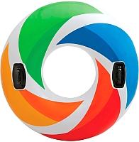 Круг для плавания Intex Цветной Вихрь 58202 -