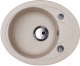 Мойка кухонная Kuppersberg Capri 1B1D S (санд беж) -
