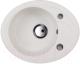 Мойка кухонная Kuppersberg Capri 1B1D S (белый) -