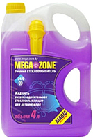 Жидкость стеклоомывающая MegaZone Magic зимний -24 (4л, фиолетовый) -