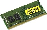 Оперативная память DDR4 Kingston KVR21S15S8/4BK -