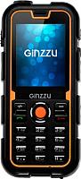 Мобильный телефон Ginzzu R2 Dual (черный/оранжевый) -