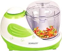 Кухонный комбайн Scarlett SC-KP45S02 (белый/зеленый) -