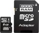 Карта памяти Goodram microSDHC (Class 4) 8GB / M40A-0080R11 -