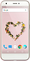 Смартфон ZTE Z10 (нежный розовый) -