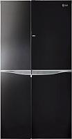 Холодильник с морозильником LG GC-M257UGBM -