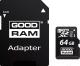Карта памяти Goodram microSDXC (Class 10) UHS-I 64GB + адаптер (M1AA-0640R11) -