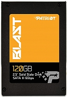 SSD диск Patriot Blast 120GB (PBT120GS25SSDR) -
