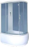 Душевая кабина Coliseum Simple T-120 L (белый/матовое стекло) -